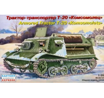 "Eastern Express EE35004 - 1:35 ""Komsomolets"" T-20 Russian Armored Artillery Tractor"