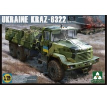 TAKOM 2022 - 1:35 Ukraine KrAz-6322 Heavy Truck (late type)