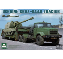 TAKOM 2019 - 1:35 Ukraine KrAZ-6446 Tractor With ChMZAP-5247G Semi-trailer