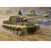 Trumpeter 00910 - 1:16 German King tiger 2 in 1 (Henschel Turret & Porsche Turret)