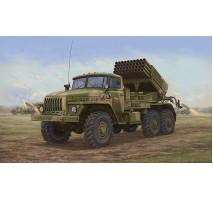 Trumpeter 01014 - 1:35 Russian BM-21 Hail MRL -Late