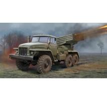 Trumpeter 1028 - 1:35 Russian BM-21 Grad Multiple Rocket Launcher