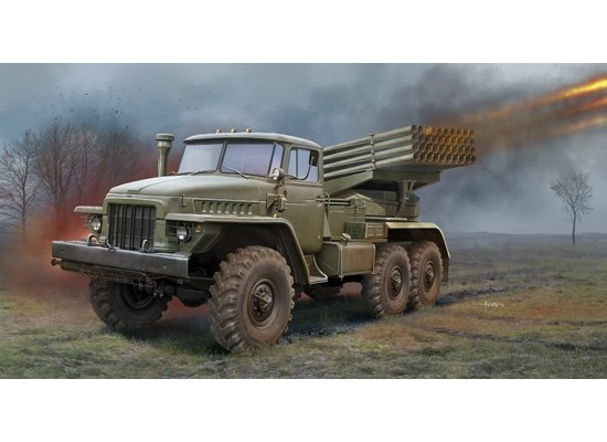 Trumpeter 1028 - 1:35 Russian BM-21 Grad Multiple Rocket Launcher