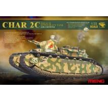 MENG TS-009 - 1:35 Char 2C French Super Heavy Tank