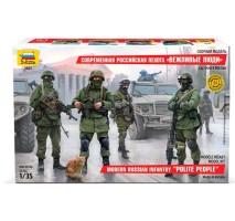 Zvezda 3665 - 1:35 Modern Russian Infantry - 4 figures