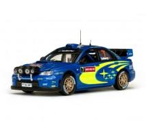 VITESSE 43138 - 1:43 Subaru Impreza WRC07 - #7 P.Solberg/P.Mills - Wales Rally GB 2008