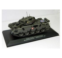Atlas - 1:43 Cruiser Tank Mk. VI Crusader III (A15) 6th Armoured Div. Pichon (WWII Collection by EAGLEMOSS)