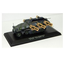 Atlas - 1:43 Sd.Kfz. 251/1 Ausf. C with Wurfrahmen 40 24. Pz.Div. Kursk (WWII Collection by EAGLEMOSS)