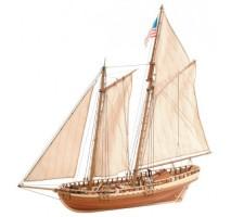 Artesania Latina 22135 - 1:41 Virginia American Shooner - Wooden Model Ship Kit