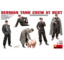 Miniart 35198 - German Tank Crew at Rest - 6 figures 1:35