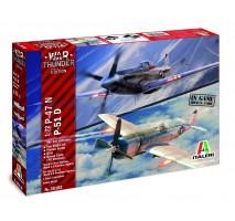 Italeri 35102 - 1:72 War Thunder: P-47N / P-51D