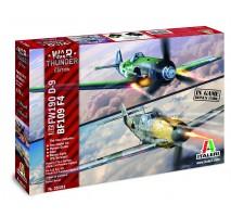 Italeri 35101 - 1:72  War Thunder: BF109 / FW-190 D9