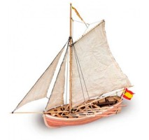 Artesania Latina 18010 - 1:25 San Juan Nepomuceno's Cutter - Wooden Model Ship Kit