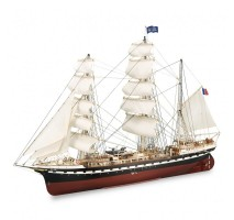 Artesania Latina 22519 - 1:75 French Training Ship Belem - Wooden Model Ship Kit