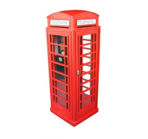 Artesania Latina 20320 - 1:10 LONDON RED PHONE CABIN - Wooden model kit