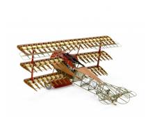 Artesania Latina 20350 - 1:16 Fokker DR.I 1918 Red Baron - Wooden Plane Model Kit