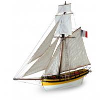 Artesania Latina 22401 - 1:50 Le Renar - The Fox - Wooden Model Ship Kit