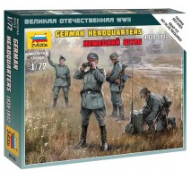Zvezda 6133 - 1:72 GERMAN HQ WWII - 4 figures