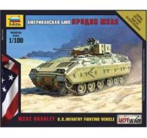 Zvezda 7406 - 1:100 M2A2 BRADLEY U.S Infantry Fighting Vehicle