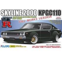 FUJIMI 038032 - 1:24 ID-136 KPGC110 Skyline GT-R Full Works