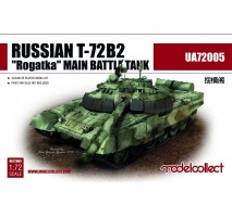 Modelcollect - 1:72 Russian T-72B2 Rogatka Main Battle Tank