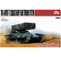 Modelcollect - 1:72 TOS-1A Heavy Flame Thrower System W/T-72 Chassis