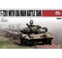 Modelcollect - 1:72 T-72B1 with ERA main battle tank