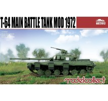Modelcollect - 1:72 T-64 Main Battle Tank Mod 1972