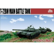 Modelcollect - 1:72 T-72 BA Main battle tank