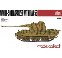 Modelcollect - 1:72 Germany WWII E-50 Flakpanzer with FLAK 55