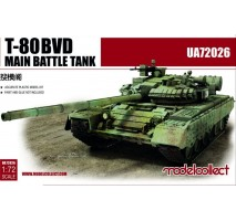 Modelcollect - 1:72 T-80BVD Main Battle Tank