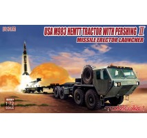 Modelcollect - 1:72 USA M983 HEMTT Tractor with Pershing II Missile Erector Launcher