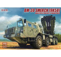 Modelcollect - 1:72 Russia BM-30 Smerch (9K58) multiple rocket launcher