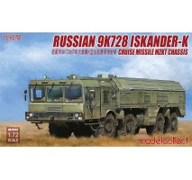 Modelcollect - 1:72 Russian 9K728 Iskander-K cruise missile luncher MZKT chassis
