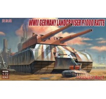 Modelcollect - 1:72 WWII German Landcruiser P.1000 Ratte