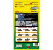 MasterTools 09972 - Zimmerit Plastic Sheet—A4 Size