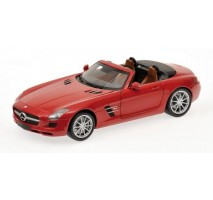 Minichamps - MERCEDES-BENZ SLS-CLASS - AMG ROADSTER - 2011 - RED METALLIC