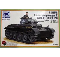 Bronco Models CB35061 - 1:35 German PanzerKampfwagen II Ausf.D1(Sd.kfz.121)