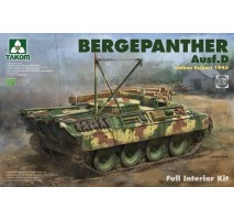 TAKOM 2102 - 1:35 Bergepanther Ausf.D Umbau Seibert 1945 production w/ full interior kit