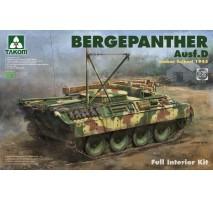 TAKOM 2102 - 1:35 Bergepanther Ausf.D Umbau Seibert 1945 production w/ full interior kit