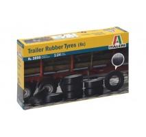 Italeri 3890 - 1:24 TRAILER RUBBER TYRES (8 pcs)