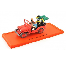 Atlas  1:43 - WILLYS MB 1943 48 - TINTIN AU PAYS DE L'OR NOIR - Tintin Collection by Atlas