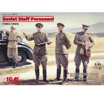 ICM 35612 - 1:35 Soviet Staff Personnel (1939-1945) (4 figures)