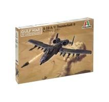 Italeri 1376 - 1:72 GULF WAR: A-10 A/C THUNDERBOLT II
