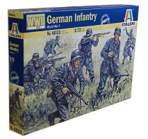 Italeri 6033 - 1:72 GERMAN INFANTRY - 50 figures