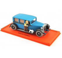 Atlas  1:43 - TAXI CHECKER 48 - TINTIN EN AMERIQUE - Tintin Collection by Atlas