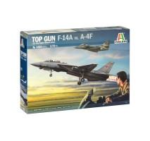 """Italeri 1422 - 1:72 """"Top Gun"""" F-14A vs A-4M"""