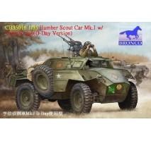 Bronco Models CB35016 - 1:35 Humber Scout Car Mk. I w/twin k-gun (D-day version)
