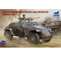 Bronco Models CB35013 - 1:35 Sdkfz 221 Armored Car