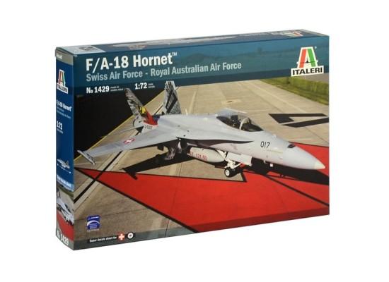 Italeri 1429 - 1:72 F/A-18 HORNET Swiss Air Force - Royal Australian Air Force